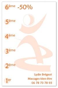 carte fidélité massage